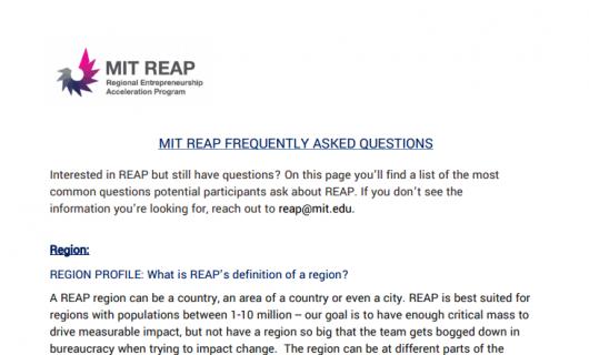 Home - MIT Reap